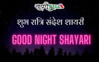 lover good night shayari
