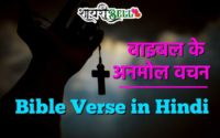 Bible Verse in Hindi